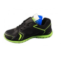 Chimpio*  Black Green Sports Running Brand Overstock Mens Shoes In Stock