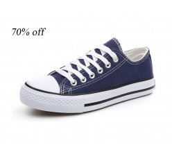 All sta* Overstock High And Low Top Brand Name Classic Canvas Shoes