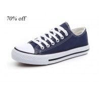 Overstock High And Low Top  Classic Canvas Shoes