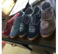 Canvas and Rubber Overstock Liquidation Wholesale Canvas Men Shoes