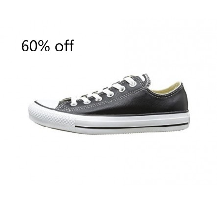 All Star Style Branded Leather and Rubber Overstock Sneakers
