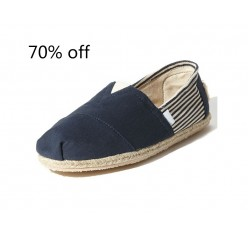 Branded Rope Sole Slip Canvas Casual Shoes Surplus Stock Clearance