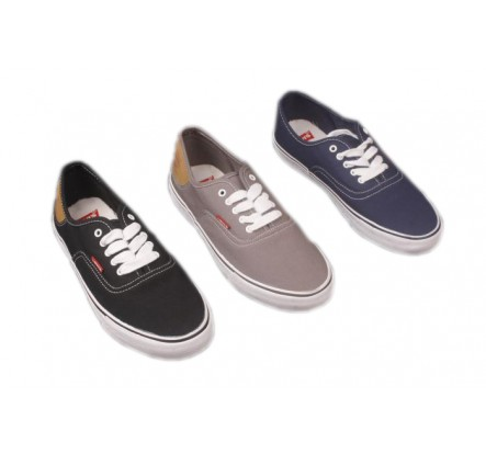Navy Black Grey Brand Canvas Shoes and  Overstock Sneakers For Men