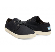 TOM*  Black Branded Fashion Overstock Mens Canvas and Rubber Sole Casual Shoes