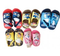 Snoo** Wholesale Cartoon 5 Patterns Soft Sole Baby Sandals In Bulk
