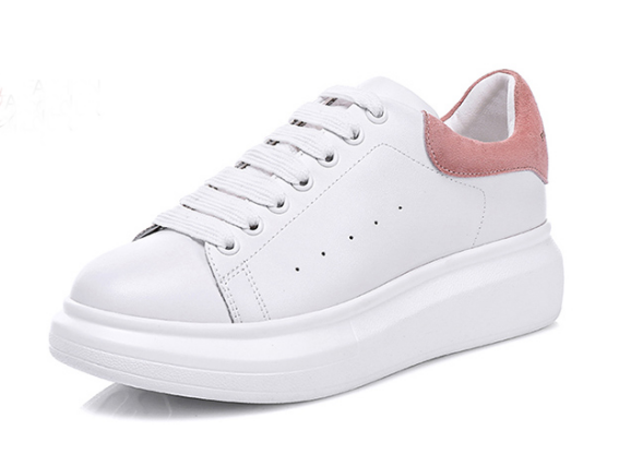 Overstock Brand Name Girls Ladies White Leather Board Shoes