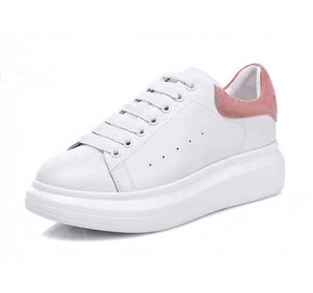 60% Off Overstock Girls Ladies White Leather Board Shoes