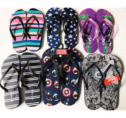 Mixed Womens Mens Flip Flop Closeout Shoes Leftover Stock