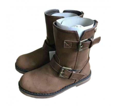 Brand Name Girls' Winter Boots Overstock Kids Leather Closeout Shoes