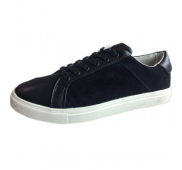 Suede Leather Fashion Sneakers Casual Shoes Export Surplus Overstock