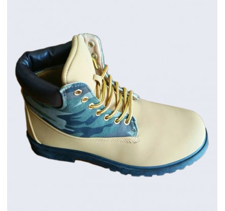 No Brand Laceup Overstock Safety Boots For Men Wholesale Clearance