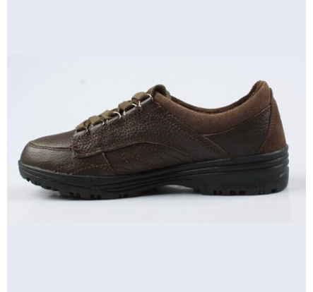 Brand Man Brown Leather Shoes Overstock Casual Shoes Liquidation