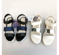 Korean Summer Sandals Shoes Stock Wholesale For Women Lady Girls