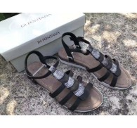 D* FONTAN* Ladies flat summer sandal stock in china