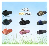 Wholesale Fashion Slipper New Supplied MOQ 600PRS