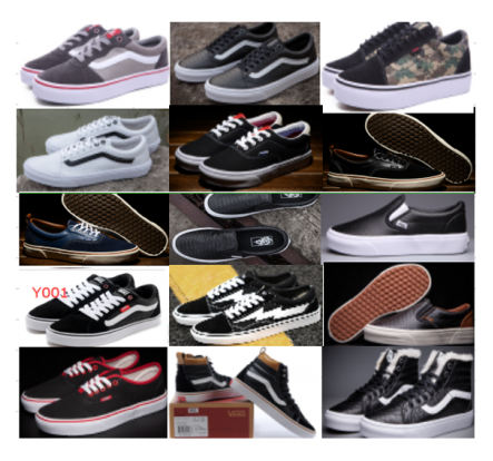 Branded Lace And Slip On Sneaker Manufacturers Excess-Stock Shoes