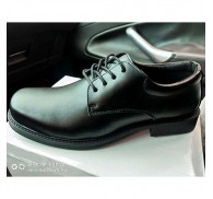 Wholesale Men Black PU Leather Shoes Business Casual Style Stocklots