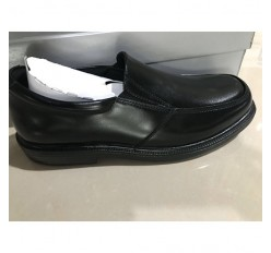 Stock Sale Brand Name Slip-resistant Full Grain Leather Man Dress Casual Shoe