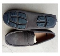 Suede Leather Loafer Shoes For Men Chinese Factory Stock Offered