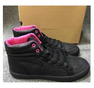 Brand Name Canvas Hi Top Sneaker Excess Inventory Sale  For Lady
