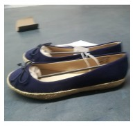 Navy blue Flat Lady Shoe Chinese Ladies Shoes Exoprt Stock Lots