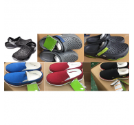 Mens Clog Slippers And Canvas Shoe Brand Stock Clearance Sale