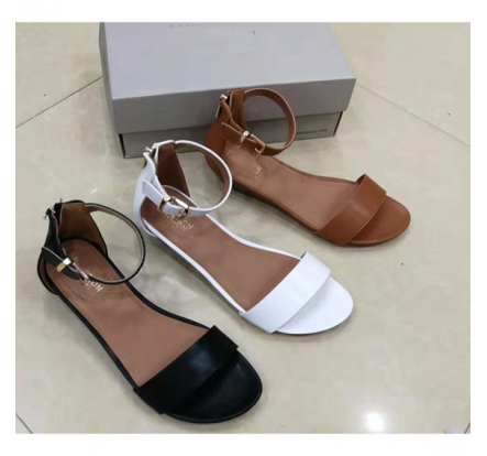 Brands Female Wedge Sandal Shoe Stock Closeout