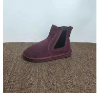 Suede Leather Ankle Boot Shoes Stocks Sale For Womens