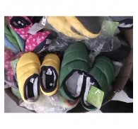 Winter Home Cotton Slippers Shoe Stocklot Cheap For Children Man Woman