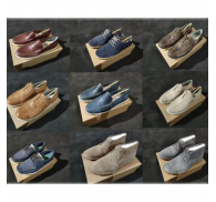Genuine Leather Branded Casual Shoe Wholesale Closeout