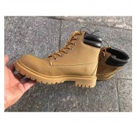 Mens Safeti Boot PU Shoe Small Quantity Stock Order