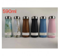 Stainless Steel Water Bottle With Brand Logo Stock Wholesale