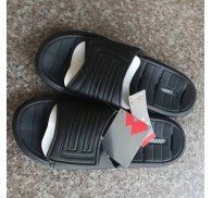 Brand Black Slippers Leftover Stock For Man Closeout Deals