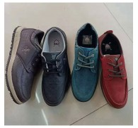 Custom Man Casual Shoe Brand Stock Liquidation Cheap