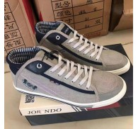 Man Grey Shoes Wholesale Casual Shoes Male Stock