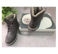 Mens Plush Winter Boot High Top Shoes Surplus-stock