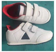 Wholesal Closeout Brand White Kid Child Sneaker