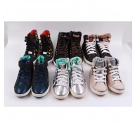 Boy Girl Top Sneaker Kids Child Brand Sneakers Export Surplus Wholesale