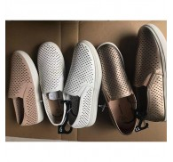 Woman Perferated Shoes Shelf Pulls Overstock Slip-on Stylish