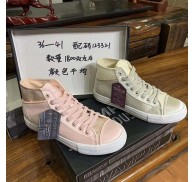 High Cut Casual Fashion Sneaker Shoes Stock Clearance For Woman girls