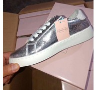 Ladi Fashion Board Shoe Glitter Sneaker Stock Liquidation