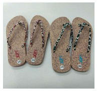 Woman Flip Flop Flats Summer Shoes Stocks Wholesale