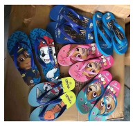 Children Kids Flip Flops Slippers Shoes Stock Cartoon Pattern