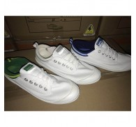 Branded White Canvas Shoes Bulk Stocks