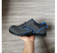 Quality Oil Resistant Safety Footwear Grey Shoes Stock For Adult