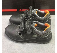 Black Safety Shoes China Shoe Unsold Stock Unisex