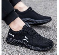 China Shoes Unbrand Stock Black Sport Shoe Unisex