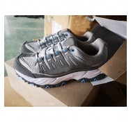 Branded Lady Sneaker Grey Shoe Stocklot