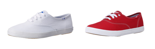 brand canvas sneakers
