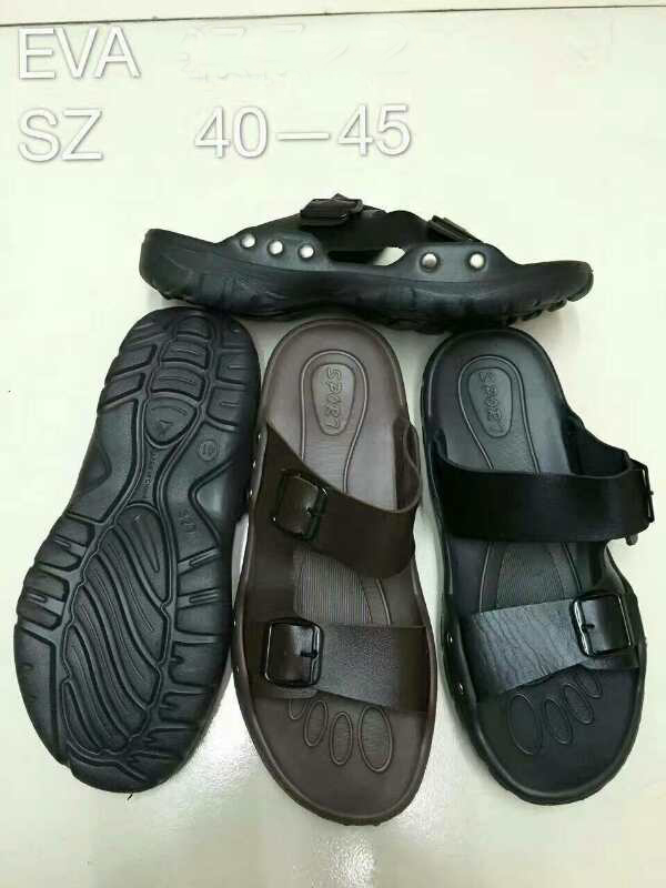 man slipper pu upper
